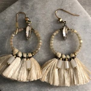 Spartina boho dangle earrings!